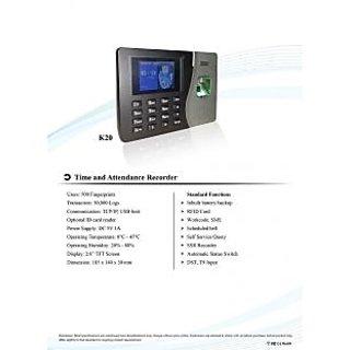 Biometric Attendance Machine Model K20(essl) (Finger+Card+Battery+TCP/IP)