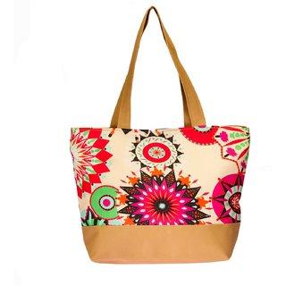 Waanii Women's Golden Khaki Tote Bag (WNI908)