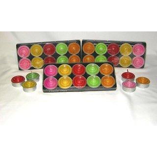 10 Classic Diya Tea Light Candles