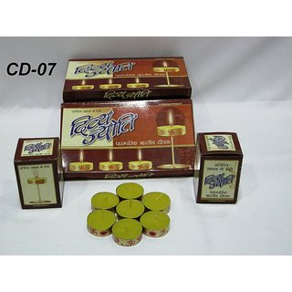 15 Divya Jyoti Tea Light Candles Pack