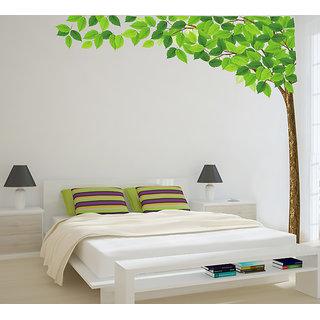 Asmi Collection Pvc Big Tree Wall Sticker (24X35 Inch)