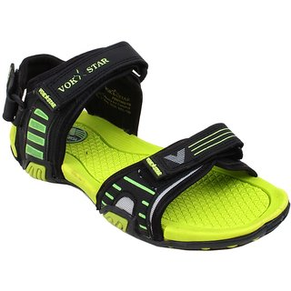 12d93fdb4722 Trendy Vokstar Green Filon Sandals- iLiv-411GRN