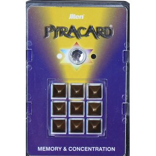 Jiten Pyramid Memory  Concentration Pyra Cards