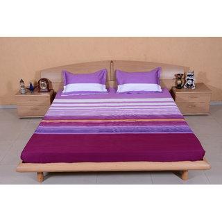 DIVINE CASA MultiColour Bedsheet  Pillow Cover RTL05