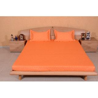 DIVINE CASA MultiColour Bedsheet  Pillow Cover RTL16