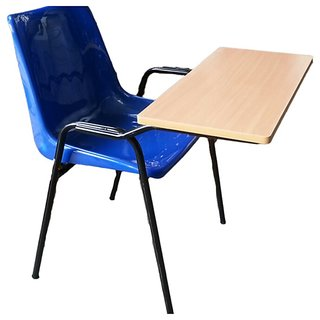 Bhwani Study Chair With MS Powder Coating Stand Multicolour