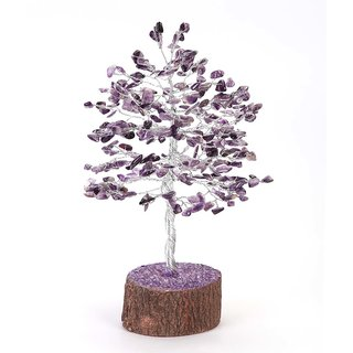 Raashi 160 chips  Amethyst Crystal Tree (Purple )
