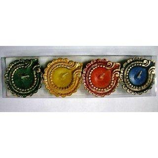 Royal Luminous 4 Diyas Candle Pack