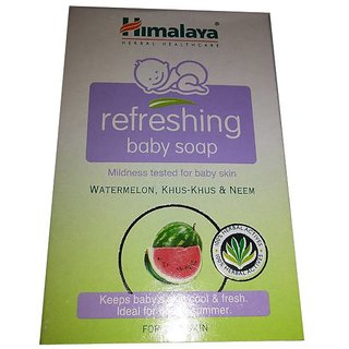 Himalaya Refreshing Baby Soap 75gm-set of 5