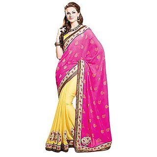 Trishana Fashions Sarees Viscose