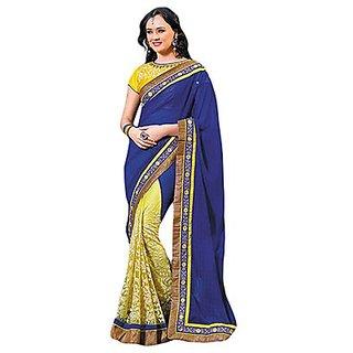 Trishana Fashions Sarees Satin