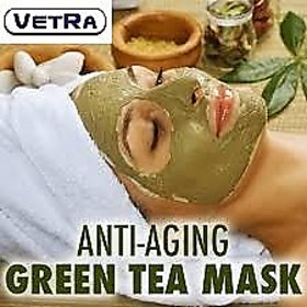 Green Tea Facial Powder, Face mask, Homemade Facial Kit for skin care - 100 Gram