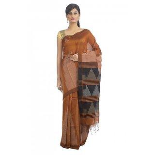 silk-cotton handwoven jamdaniSaree from Bengal artisans