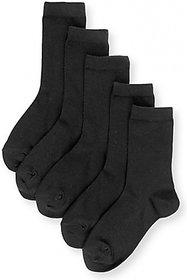 iLiv School Uniform Grey Socks- 5 Pairs- 2-13 Years Option