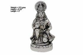 Elegant Design Lord Hanuman Silver