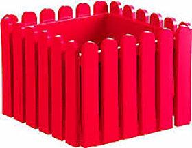 Landhaus Planter 38Cm Red