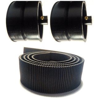 Track Belt With Pulley Wheel 4 CM Width