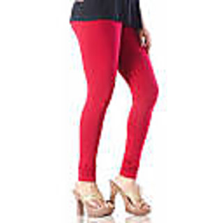 Ladies Cotton Red Legging XXL Size