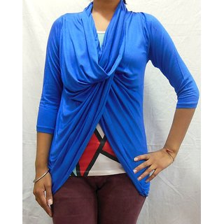 Ten In One style shrug Blue