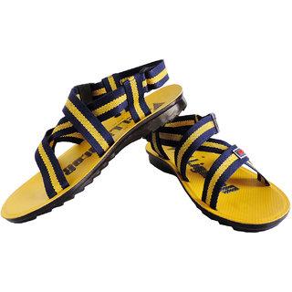 Elligator yellow stylish & comfortable floater