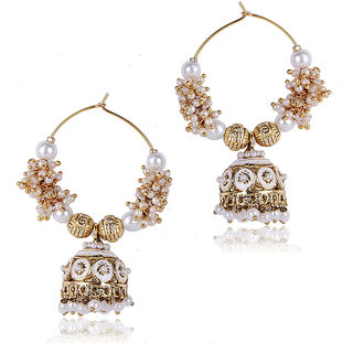 Shining Diva Jhumki Style Earrings (6573er) (6573er)