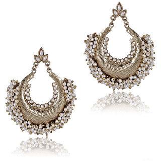 Shining Diva Alloy Ethnic Earrings (6591er)