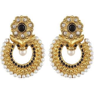 Shining Diva Gold Plated Chandbali Earrings (6794er)