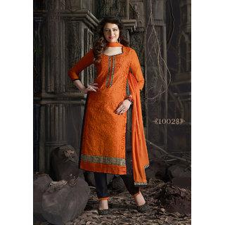 NIRAV SELF DESigning Pure Chandri Cottion  Dress Materials (Unstitched)