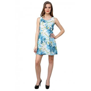 Nidia - Women Sleeveless dress with elasticated waist