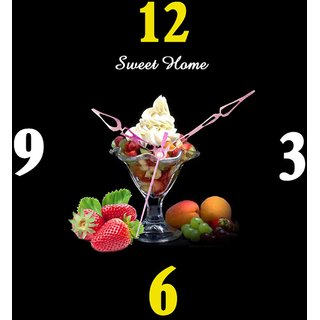 Sweet Home Beautiful Designer Hane Made Wall Clock.#makeinINDE