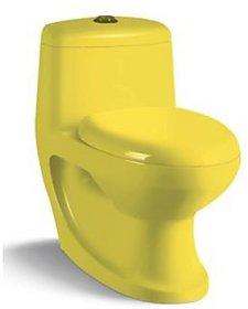 Sanitary Ware Closet BS389 Yellow