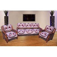 JBG Home Store Delight Muticolor Sofa Cover Set ( Set Of 10) Design 3