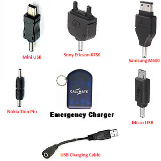 Callmate USB  5-in-1 Emergency charger