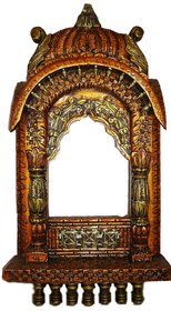 Rids Woods Traditional Rajasthani Style Hand-carved Wooden Jharokha