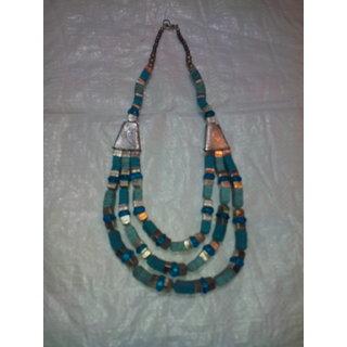 Stylish Brass Necklace