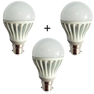 Combo of 7W LED Bulbs(Set of 3 Bulbs)