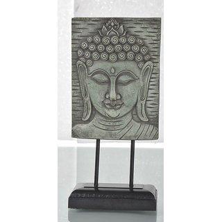 Trendz Buddha wooden statue