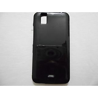 hot sale online 64e2a 30e9d Karbonn Android One Sparkle V Black Silicon Jelly Back Cover with  Screenguard