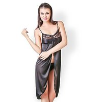 Intimate Satin Babydoll Dress (YY41)