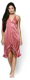 Intimate Satin Babydoll Dress (YY102)