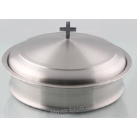 Mayur Export Stainless Steel Communion Tray With Lid