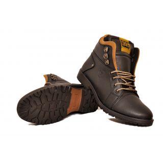 Black Tiger Men s Synthetic Leather Casual Shoes 3D-Black 06d922373