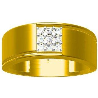 Sakshi Jewels 5.14 Gram 18K Gold 0.23 Carat VVS-FG Diamond Ring