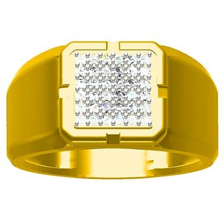 Sakshi Jewels 6.73 Gram 18K Gold 0.29 Carat VVS-FG Diamond Ring