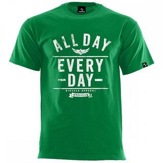 Green desinger gents t shirt