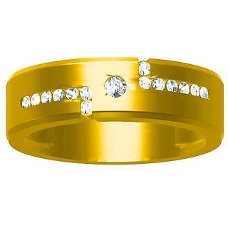 Sakshi Jewels 7.12 Gram 18K Gold 0.26 Carat VVS-FG Diamond Gents Ring.