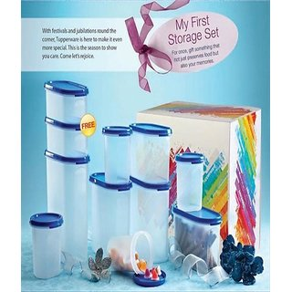 Tupperware My First Storage Set Plastic Containers (11 Pcs)