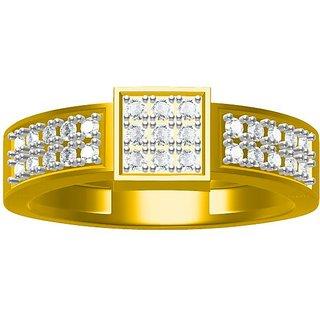 Sakshi Jewels 4.79 Gram 18K Gold 0.51 Carat VVS-FG Diamond Gents Ring.