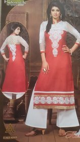 Shagun designer cotton semistitch suit