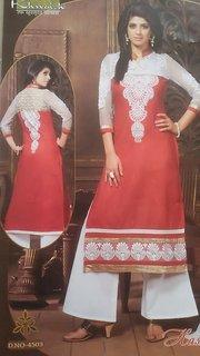 Shagun designer cotton semistitch suit